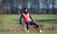 Paris Cowan-Hall of Wycombe Wanderers during the Wycombe Wanderers Training session at Wycombe Training Ground, High Wycombe, England on 17 January 2019. Photo by Andy Rowland.