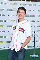 HOLLYWOOD, CA - MAY 6:  Bradley Steven Perry at the Premiere Of Disney's 'Million Dollar Arm'  on May 6, 2014 at El Capitan Theatre in Hollywood, California. Credit: SP1/Starlitepics /nortephoto.com