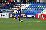 FW Sunil Chhetri (CHHETRI) (C) of JSW Bengaluru taking a scoring shot during match AFCCQF1 – AFC Cup 2016 Quarter Finals<br /> JSWBENGALURUFC(IND) – JSW Bengaluru FC (India)<br /> vs<br /> TAMPINESROVERS(SIN) – Tampines Rovers (Singapore)<br /> at Kanteerava Stadium, Bangalore, Karnataka on 14th Septembar 2016.<br /> Photo by Saikat Das/Lagardere Sports