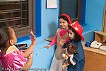 Education preschool 4 yearolds pretend play girls performing wedding