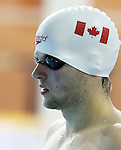 Toronto, Ontario, August 12, 2015. Zack McAllister competes in the swimming during the 2015 Parapan Am Games . Photo Scott Grant/Canadian Paralympic Committee