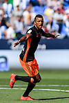 Nani of Valencia CF celebrates during their La Liga match between Club Deportivo Leganes and Valencia CF at the Butarque Municipal Stadium on 25 September 2016 in Madrid, Spain. Photo by Diego Gonzalez Souto / Power Sport Images