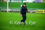 Kerry manager Fintan O'Connor during the Joe McDonagh hurling cup fourth round match between Kerry and Carlow at Austin Stack Park on Saturday.