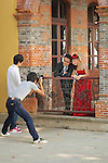 Wedding Photographs At Baoqing Villa, Hangzhou (Hangchow).