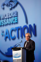 Montreal (QC) CANADA - April 2012 File Photo - IPY (International Polar Year) 2012 conference held at Montreal Convention Centre - Opening speech by Quebec  Premier Jean Charest