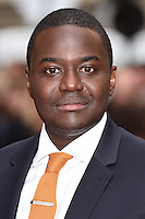 """Babou Ceesay<br /> arrives for the """"Eye in the Sky"""" premiere at the Curzon Mayfair Cinema, London<br /> <br /> <br /> ©Ash Knotek  D3105 11/04/2016"""