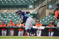 Tampa Bay Rays Cristian Toribio (70) during an instructional league game against the Baltimore Orioles on September 25, 2015 at Ed Smith Stadium in Sarasota, Florida.  (Mike Janes/Four Seam Images)