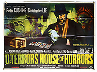 BNPS.co.uk (01202) 558833. <br /> Pic: Ewbank'sAuctions/BNPS<br /> <br /> Pictured: This poster for Dr Terror's House of Horrors sold for £2,750. <br /> <br /> A selection of classic horror and sci-fi film posters have sold for £85,000.<br /> <br /> The marquee lot was a British quad 30ins by 40ins poster for Forbidden Planet which fetched £12,000, three times its estimate.<br /> <br /> It features the memorable first image of Robby the Robot holding a damsel in distress.<br /> <br /> A poster promoting the Christopher Lee film Dr Terror's House of Horrors (1965) also outperformed expectations, selling for £2,750, while one advertising the first Star Wars film (1977) fetched £4,750.<br /> <br /> The posters, which were consigned by different collectors, sparked a bidding war with Ewbank's Auctions, of Woking, Surrey.