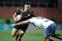 27th March 2021; Hamilton, New Zealand;  Shaun Stevenson. Chiefs versus Blues, Super Rugby  AOTEAROA, FMG Waikato Stadium, Hamilton, New Zealand.