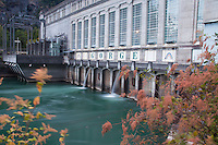 Gorge Dam Powerhouse, North Cascades National Park, Washington, US
