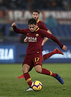 Football, Serie A: AS Roma - Genoa, Olympic stadium, Rome, December 16, 2018. <br /> Roma's Cengiz Under in action during the Italian Serie A football match between Roma and Genoa at Rome's Olympic stadium, on December 16, 2018.<br /> UPDATE IMAGES PRESS/Isabella Bonotto