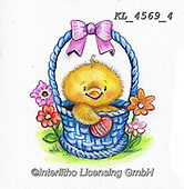 EASTER, OSTERN, PASCUA, paintings+++++,KL4569/4,#e#, EVERYDAY ,chicks,chicken ,sticker,stickers