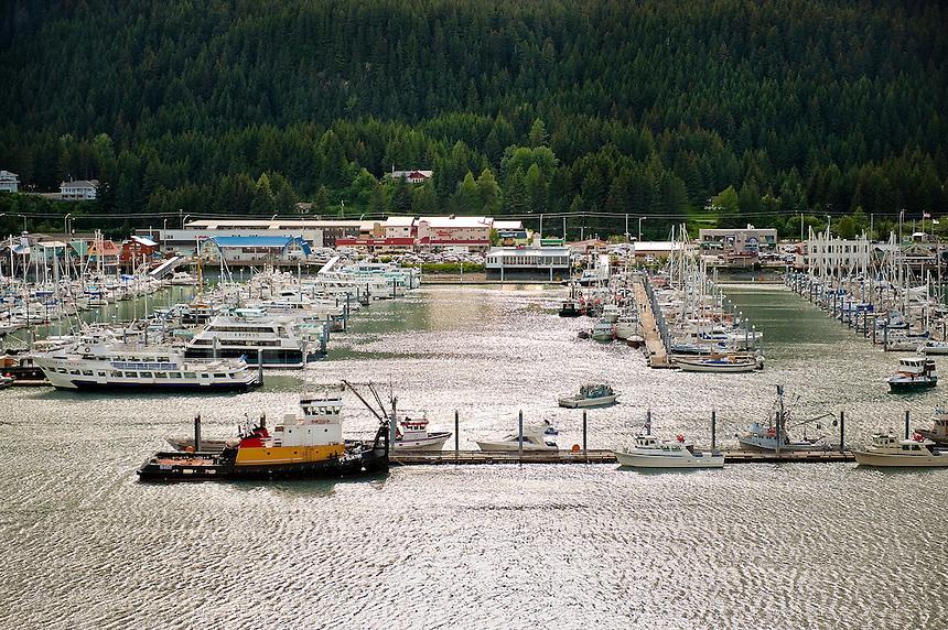 Seward, harbor, Kenai Peninsula, Alaska, AK, USA