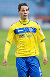 St Johnstone FC....Season 2011-12.Kevin Moon.Picture by Graeme Hart..Copyright Perthshire Picture Agency.Tel: 01738 623350  Mobile: 07990 594431