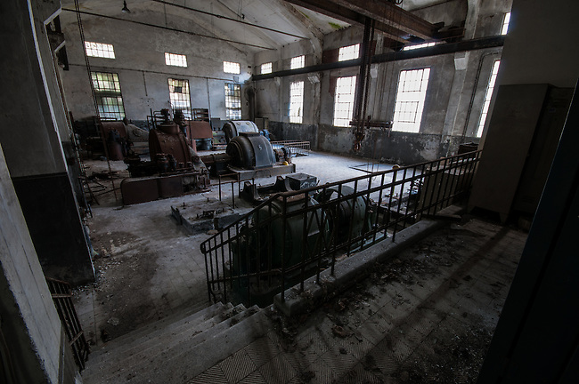 An abandoned paper mill in the Black Forest