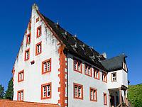 Stadtschloss (von 1561) in  Klingenberg am Main, Bayern, Deutschland