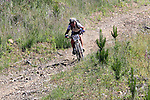 No holding back for Andy MacDonald (268). Mammoth Adventure MTB Ride, Nelson<br /> Photo: Marc Palmano/shuttersport.co.nz