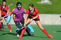 Canterbury 1 v Mid Canterbury. 2021 National Women's Under-18 Hockey Tournament at National Hockey Stadium in Wellington, New Zealand on Sunday, 11 July 2021. Photo: Dave Lintott / lintottphoto.co.nz https://bwmedia.photoshelter.com/gallery-collection/Under-18-Hockey-Nationals-2021/C0000T49v1kln8qk