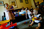 Jacen Perry's first birthday Sunday, April 23, 2006, at his home in DeLand. (Chad Pilster)
