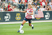 Alex Morgan (13) of the United States (USA). The United States (USA) women defeated China PR (CHN) 4-1 during an international friendly at PPL Park in Chester, PA, on May 27, 2012.