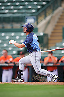 Tampa Bay Rays second baseman Brandon Lowe (5) during an Instructional League game against the Baltimore Orioles on September 19, 2016 at Ed Smith Stadium in Sarasota, Florida.  (Mike Janes/Four Seam Images)