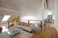 Modern New England style living room