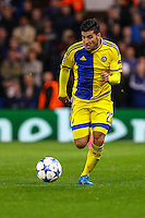 Avraham Rikan of Maccabi Tel-Aviv during the UEFA Champions League match between Chelsea and Maccabi Tel Aviv at Stamford Bridge, London, England on 16 September 2015. Photo by David Horn.