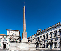 Obelisk del Quirinale, Rome, Italy