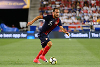 Harrison, NJ - Friday July 07, 2017: Marco Ureña during a 2017 CONCACAF Gold Cup Group A match between the men's national teams of Honduras (HON) vs Costa Rica (CRC) at Red Bull Arena.