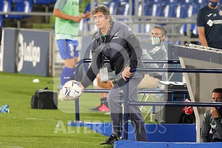 Real Betis Balompie's coach Manuel Pellegrini during La Liga match. September 29,2020. (ALTERPHOTOS/Acero)