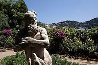 in den Giardini di Augusto, Capri, Italien