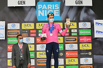 Stefan Bissegger (SUI) EF Education-Nippo wins Stage 3 of Paris-Nice 2021, an individual time trial running 14.4km around Gien, France. 9th March 2021.<br /> Picture: ASO/Fabien Boukla | Cyclefile<br /> <br /> All photos usage must carry mandatory copyright credit (© Cyclefile | ASO/Fabien Boukla)