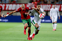 1st September 2021; Faro, Algarve, Portugal:  Republic of Irelands forward Adam Idah tussles with Portugals defender Pepe during the FIFA World Cup,  2022 European qualifying round group A football match between Portugal and Ireland in Faro, Portugal
