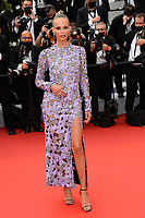 CANNES, FRANCE. July 12, 2021: Natasha Poly at the gala premiere of Wes Anderson's The French Despatch at the 74th Festival de Cannes.<br /> Picture: Paul Smith / Featureflash