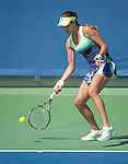 Ana Ivanovic (SRB) defeats Sloane Stephens (USA) 2-6, 6-4, 6-1 at the Western and Southern Open in Mason, OH on August 20, 2015.