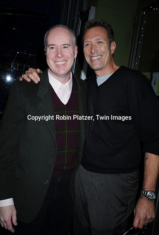director Conal O'Brien and Walt Willey..at The All My Children Christmas Party on December 15, 2008 at Prohibition Restauant in New York City. ....Robin Platzer, Twin Images