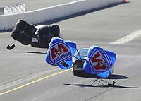 Jul 29, 2017; Sonoma, CA, USA; NHRA pro stock driver Allen Johnson during qualifying for the Sonoma Nationals at Sonoma Raceway. Mandatory Credit: Mark J. Rebilas-USA TODAY Sports
