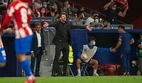 2nd October 2021; Estadio Wanda Metropolitano, Madrid, Spain; La Liga Football, Atletico de Madrid versus Futbol Club Barcelona; Diego Pablo Simeone, Atletico de Madrid manager