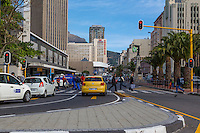 South Africa, Cape Town Central Business District.  Adderley Street.