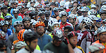A group of cyclists wait to start the annual Tour de Houston bike ride downtown Sunday  March 16, 2014.(Dave Rossman photo)