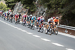 The breakaway during Stage 10 of La Vuelta d'Espana 2021, running 189km from Roquetas de Mar to Rincón de la Victoria, Spain. 24th August 2021.     <br /> Picture: Cxcling   Cyclefile<br /> <br /> All photos usage must carry mandatory copyright credit (© Cyclefile   Cxcling)