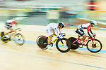 Leung Chung Pak of the X SPEED competes in Men Junior - Omnium III Elimination during the Hong Kong Track Cycling National Championship 2017 on 25 March 2017 at Hong Kong Velodrome, in Hong Kong, China. Photo by Marcio Rodrigo Machado / Power Sport Images