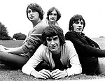 The Kinks  1968 Pete Quaife, Dave Davies, Mick Avory and Ray Davies.© Chris Walter.