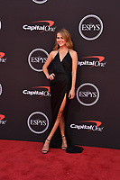 LOS ANGELES, USA. July 10, 2019: Mallory Edens at the 2019 ESPY Awards at the Microsoft Theatre LA Live.<br /> Picture: Paul Smith/Featureflash