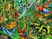 Lori, REALISTIC ANIMALS, REALISTISCHE TIERE, ANIMALES REALISTICOS, zeich, paintings+++++Poison Dart Frogs_Sunsout_20X27_2014_72,USLS273,#a#, EVERYDAY ,puzzle,puzzles