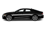 Car Driver side profile view of a 2020 Audi A7 Premium-Plus 5 Door Hatchback Side View