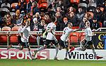 30.11.2018 Dundee Utd v Ayr Utd: Lawrence Shankland celebrates