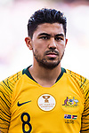 Massimo Luongo of Australia is seen prior to the AFC Asian Cup UAE 2019 Group B match between Australia (AUS) and Jordan (JOR) at Hazza Bin Zayed Stadium on 06 January 2019 in Al Ain, United Arab Emirates. Photo by Marcio Rodrigo Machado / Power Sport Images