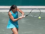 Marion Bartoli battles at Family Circle Cup in Charleston, South Carolina