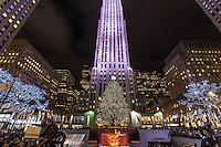 america,New York,  Manhattan, fifth ave,Rockfeller center